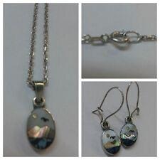 Set Gioielli: COLLANA U.orecchini 925 argento M.IMMAGINE accessori in argento