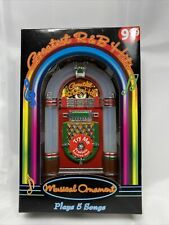 Musical Ornament Collectible Christmas Eve - Play 5 Greatest R&B Hits