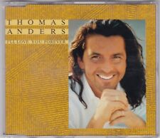 THOMAS ANDERS-I'LL LOVE YOU FOREVER-3 TRACK MAXI CD INCL.5:07 EXTENDED