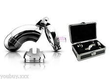 Metal Worx CHASTITY DEVICE 100% Steel + LOCK + box Top Quality from Pipedream Ⓡ