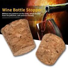 10Pcs/Set Tapered Natural Cork Bottle Stoppers Wine Corks Crafts Size S/M/L 2019