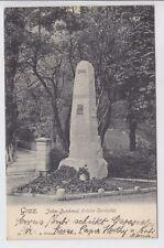 AK Graz, Jahn-Denkmal nächst Turnhalle, 1902