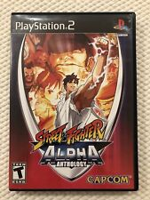 Street Fighter Alpha Anthology (Sony PlayStation 2 )PS2,Complete W/Case & Manual