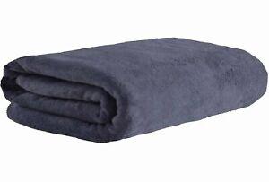 Microfiber Luxury Grey Bath Towel Extra Large Sheet Beach 36 Inch X 72 Inch New