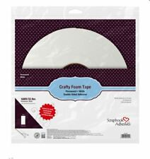 """Scrapbook Adhesives Giant Crafty Foam Tape Roll, White -108'x.39""""x.04& #034; -02100-20"""