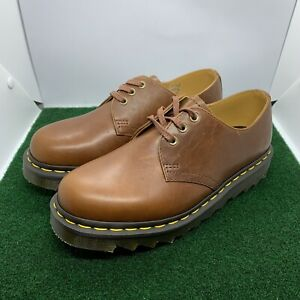 Dr Martens 1461 Ziggy Leather Oxford Tan Luxor Brown Women's Size 8 Doc