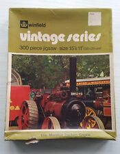 Vintage Winfield Woolworths Jigsaw Puzzle 300 pieces - Marshall Traction Engine