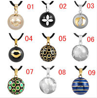 Hollow Harmony Ball Bell Pendant Necklace Jewellery Statement Mexican Bola
