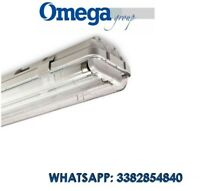 Beghelli Plafoniera lampada stagna a soffitto 2x58W BS102 258RE **neon inclusi