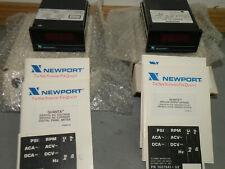 1 Newport Quanta Q9020 Dcr7 Digital Panel Meter Nib