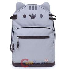 Pusheen Cat Face Backpack Standard Kids School Book Bag Travel Gear Accessories