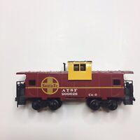 VTG Bachmann ATSF Santa Fe Caboose 999628 Red Yellow Model Railroad Train