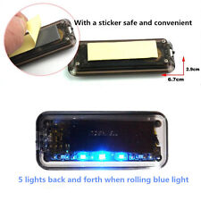 Car Alarm Security Flash Anti-Theft Solar Energy LED Light Warning Sensor Light