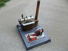 VINTAGE WILESCO TOY STEAM ENGINE MADE IN GERMANY