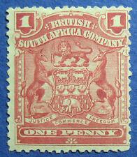 1898 RHODESIA 1d SCOTT# 60 S.G.# 77 UNUSED                               CS09669