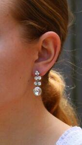 Diamante Evening Wear Nickel Free Earrings