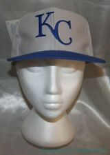 NEW Vintage 1990s LOGO 7 Gray MLB KANSAS CITY ROYALS Snapback KC Script Hat Cap