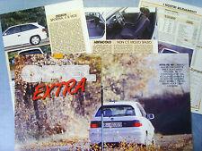 AUTO992-RITAGLIO/CLIPPING/NEWS-1992-OPEL ASTRA GSI 16V - 5 fogli
