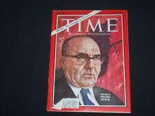 1967 JUNE 9 TIME MAGAZINE - ISRAEL'S PREMIER LEVI ESHKOL - T 2021