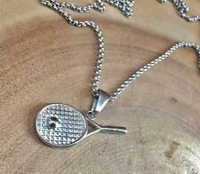 Men's jewelry, Fitness jewelry, tennis jewellry, gym jewelry, tennis racquet