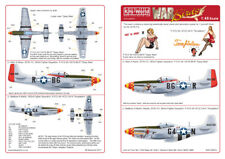 Kits-World 1/48 P-51D Mustang 357th FG # 48054