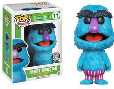 Herry Monster Sesamstrasse POP! Sesame Street #11 Vinyl Figur Funko