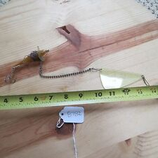 Fishmaster Wollaston Mass USA vintage fishing lure (lot#8782)