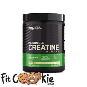 Creatine Monohydrate Optimum Nutrition - Micronised Powder 317g