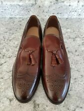 Allen Edmonds Berwick Tassel Wingtip Loafers Shoes Men's Size 14 A USA