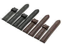12-24mm Crocodile Grain Genuine Calf Leather Strap Watch Band For Tissot Mens