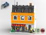 Modular Eisdiele - MOC - PDF Bauanleitung - kompatibel mit LEGO Steine