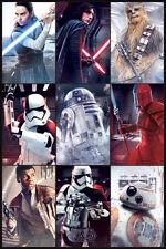 Star Wars The Last Jedi (Characters) Maxi Poster 61cm x 91.5cm PP34182 716