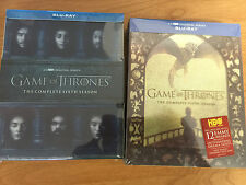 Game of Thrones - The Complete Series/Season 5 - 6 (Blue Ray) New Sealed Box