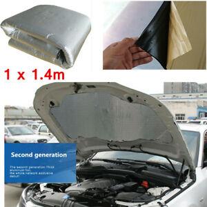 10MM Car Truck Sound Deadening Mat Sound Deadener Insulation Material 1x1.4m