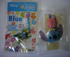 Disney Japan Lilo & Stitch Cell Phone Strap Dangle Charm Lot Of 2 Lucky Blue