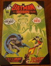 DC Comics Batman and Robin Wooden Wall Art 13'' x 19'' Daughter of the Deamon