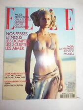 Magazine mode fashion ELLE French #2953 5 aout 2002