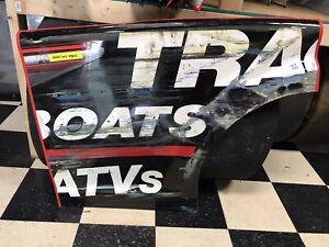 #19 Martin Truex Jr 2020 Nascar Race Used Sheetmetal Read Qtr Panel
