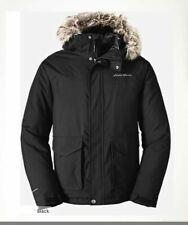 NWT Eddie Bauer Men's Superior Down II Jacket Weatheredge Dark loden/Black