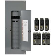 Square D Main Breaker Box Kit 200 Amp 40-Space 80-Circuit Indoor (Value Pack)