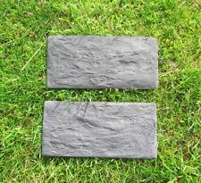 2 x Wandverkleidung Gießform Schalungsformen Verblender Schieferstruktur G0469