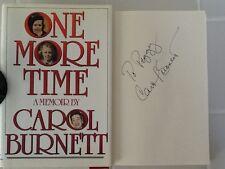 Carol Burnett Signed Book Memoir Broadway & Tv Star Hc/Dj Classic Tv Lucy Liz