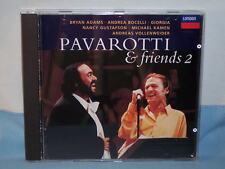 Pavarotti & Friends 2 Live Parco Novi Sad, Modena Andrea Bocelli 1995 CD Decca