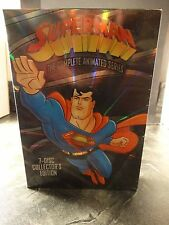 SUPERMAN: THE COMPLETE ANIMATED SERIES - mip -  FACTORY SEALED NEW DVD !! oop