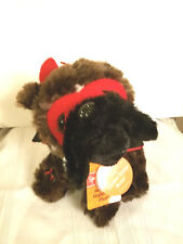 """Spooky Village Animated Musical """"Zombie Dance Music"""" Plush Dog"""