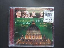 Christmas Music CD; Rome Superstars B. Adams Tom Jones Jewel D.Warwick SEE LIST