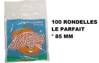100 Rondelles Joints bocaux terrines ° 85 MM LE PARFAIT