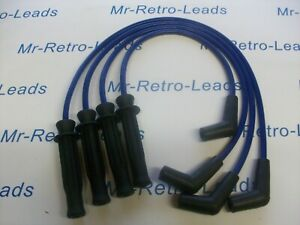 BLUE 8.5MM PERFORMANCE IGNITION LEADS ROVER DISCOVERY 2.0 MPI 89 > 98 QUALITY HT