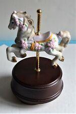 San Francisco Music Box Company Carousel Horse Music Box free shipping