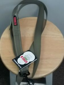 KONG MAX -Traffic  Leash 6 Ft Chew Resistant Olive GREEN  Ultra Durable New